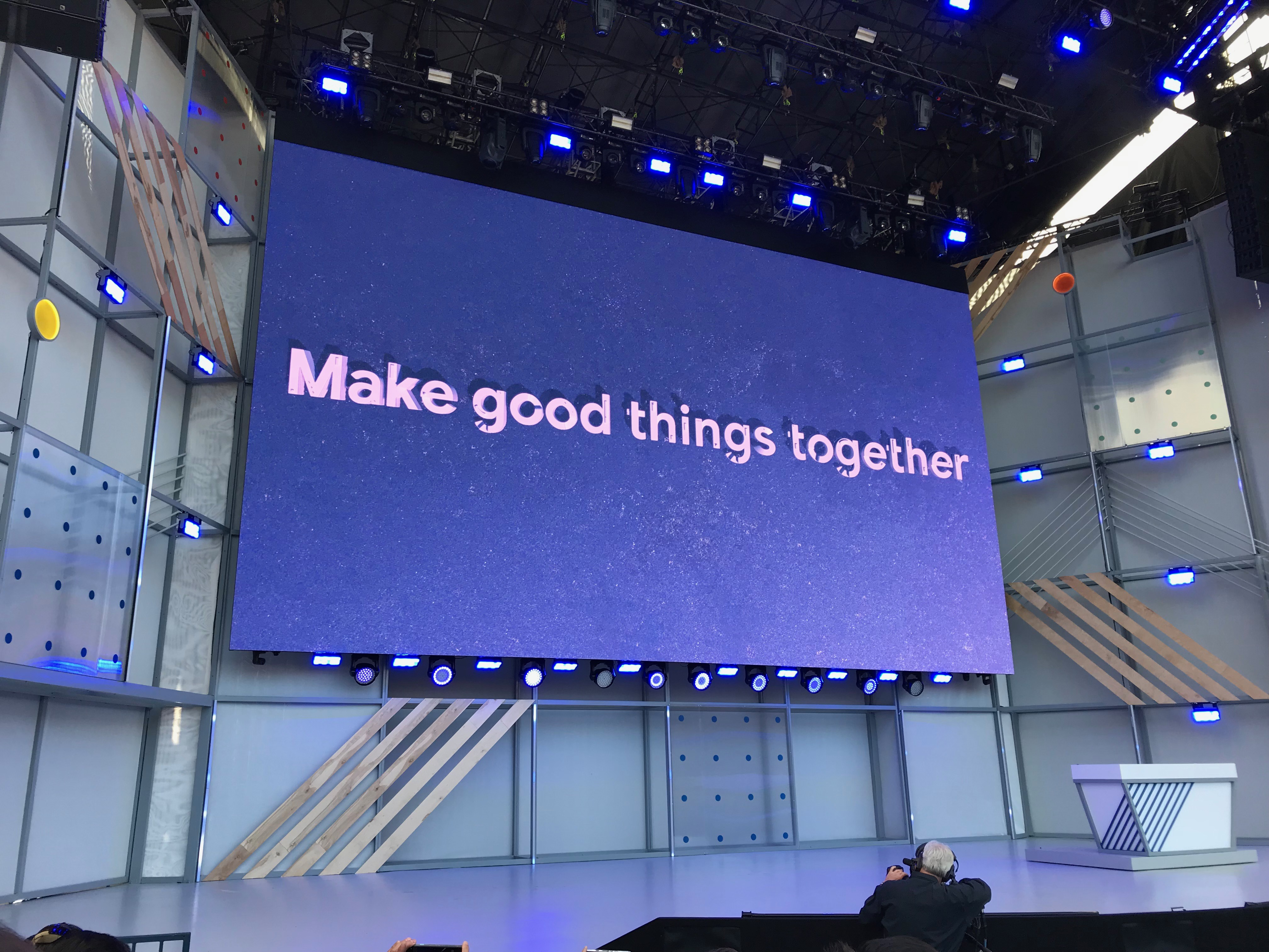Make good things together